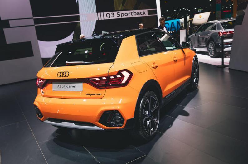 Frankfurtes auto izstāde 2019: Audi A1 citycarver