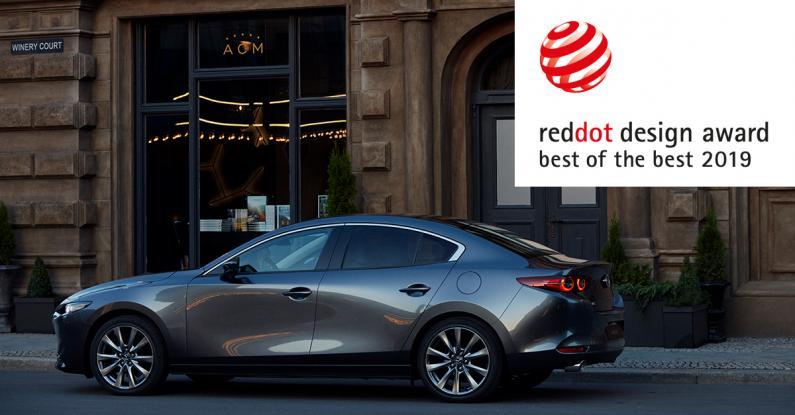 Mazda3 iegūst augstāko Red Dot dizaina balvu