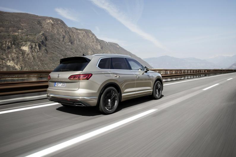 415 ZS Touareg var kļūt par pēdējo Volkswagen ar V8 dīzeļdzinēju