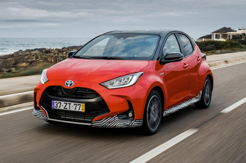 Toyota Yaris: pirmais testa brauciens
