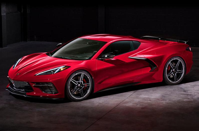 Amerikāņu sapnis - jaunais Chevrolet Corvette C8