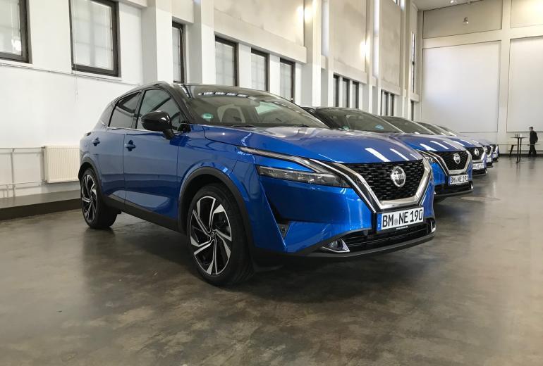 Nissan Qashqai pirmie iespaidi
