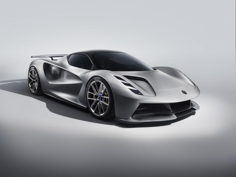 Lotus Evija: elektroauto ar 2000 ZS