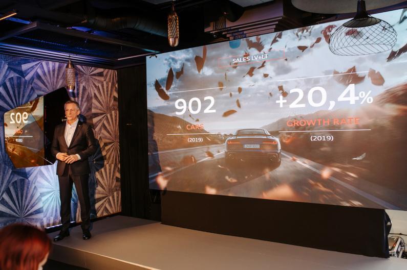 Audi un Volkswagen Baltijas valstīs uzrādījis rekordlielu pārdoto auto apjomu