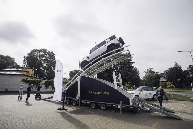 Unikāla pieredze - Land Rover bezceļu izaicinājums