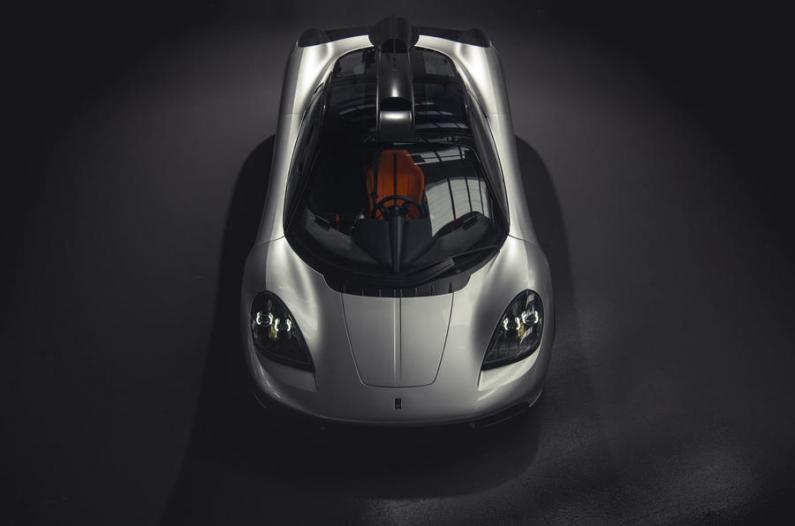 McLaren F1 pēctecis – jaunais T50 ar V12 motoru