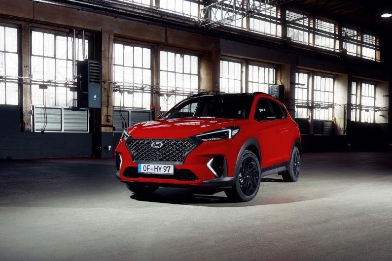 Hyundai Tucson kļūst sportiskāks ar N line