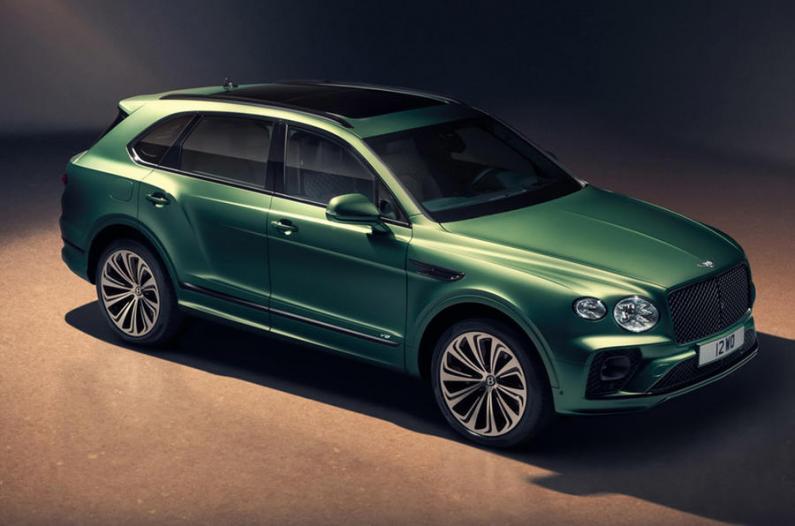 Bentley atsvaidzinājis Bentayga SUV - moderns dizains un jaunas tehnoloģijas