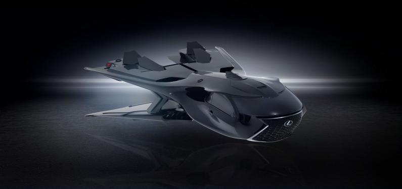 Lexus laiž klajā QZ Galactic Enforcer