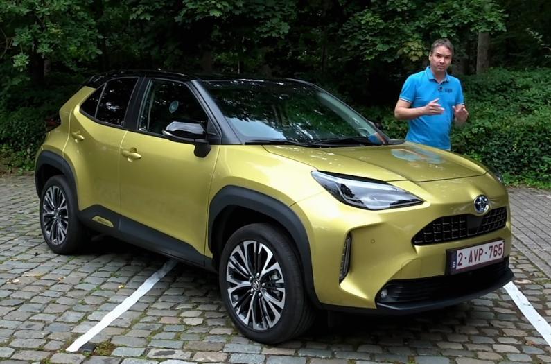 Toyota Yaris Cross testa brauciens