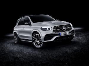 Mercedes-Benz laiž klajā GLE 580
