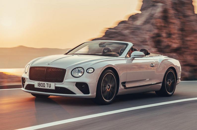 Bentley Continental GTC: pirmie iespaidi