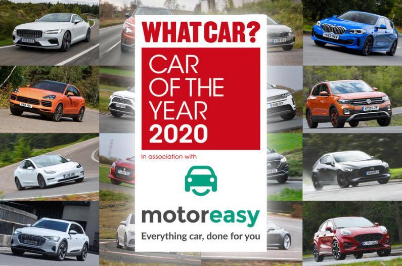 Paziņoti What Car? Gada auto 2020 titula pretendenti