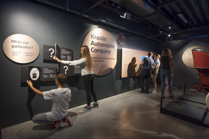 Rīgas Motormuzejs aicina uz ģimeņu dienu