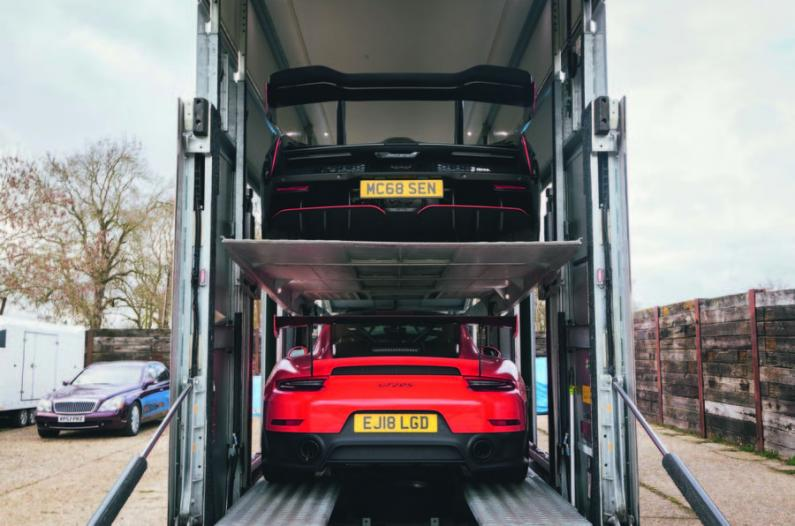 Viena diena Lielbritānijas eksotisko auto pārvadātāju dzīvē
