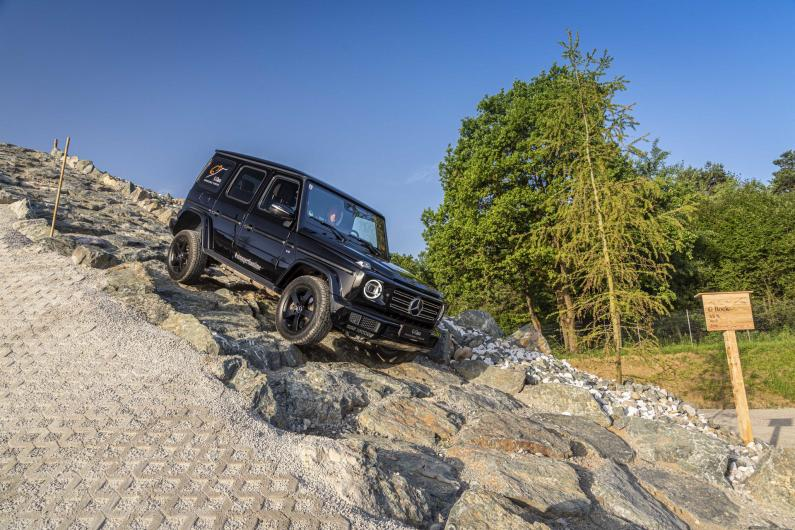Mercedes-Benz G-Klases Stronger Than Time versija