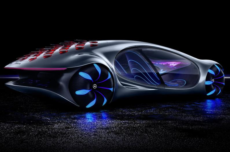 Mercedes-Benz atklāj futūristisko Vision AVTR konceptauto